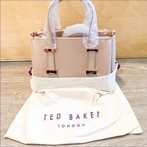 NWT Ted Baker London Julieet Small Leather Tote